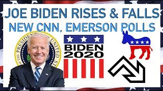 Joe Biden Rise and Fall in 2020 Democratic Primary Polls | CNN, Emerson