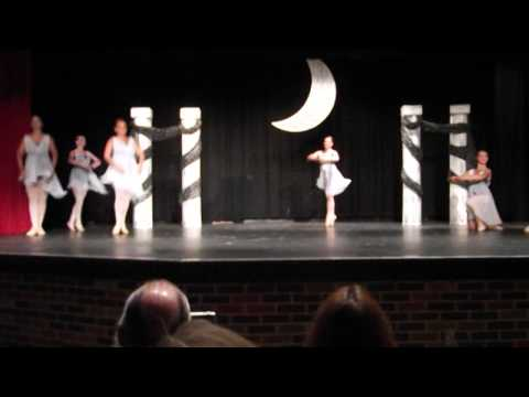 "Carousel School Of Dance Advanced Ballet. ""Beethoven's Myth"""