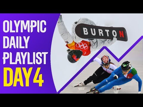 Olympic Daily Playlist: Day 4 - History Makers, New Friends and Ice Cream!