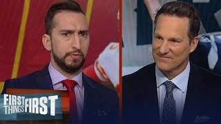 Chiefs vs Patriots: Nick Wright and Danny Kanell makes their predictions | NFL | FIRST THINGS FIRST