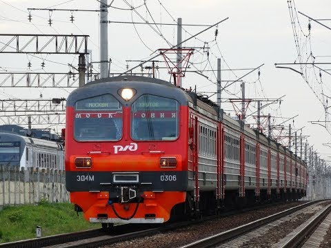 Горьковское направление МЖД   Железнодорожная - Москва Курская