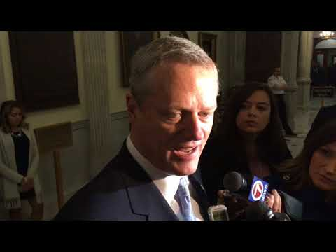 Massachusetts should look into legalized sports betting, Gov. Charlie Baker says