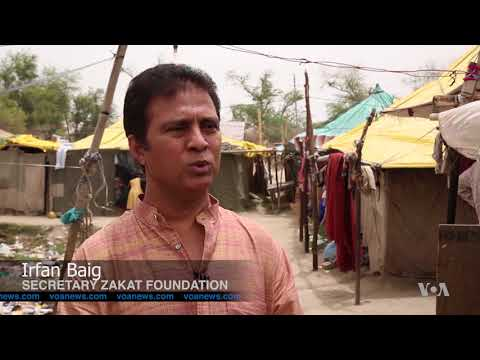 Rohingya Refugees in New Delhi Face Daily Difficulties