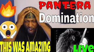 Download This Was Amazing | Pantera - Domination (Live Video) Reaction