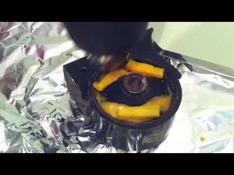 Ремонт подушки двигателя Toyota Corona At 170 своими руками Part 2