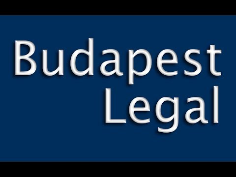 Launch Video | Intro of Budapest Legal Channel