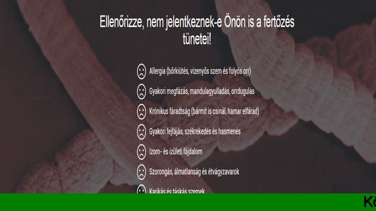 milyen paraziták okoznak ízületi fájdalmakat)