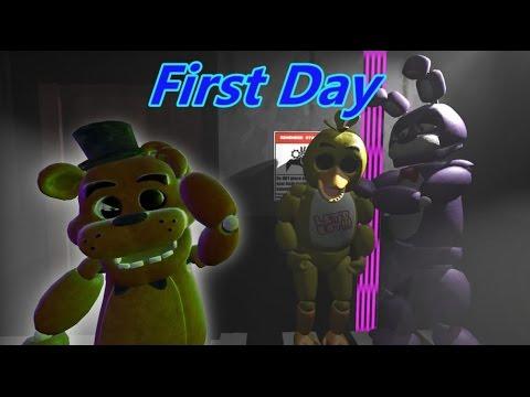 [SFM/FNAF] First Day