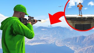 HOW FAR Is The LONGEST SNIPE In GTA 5?!