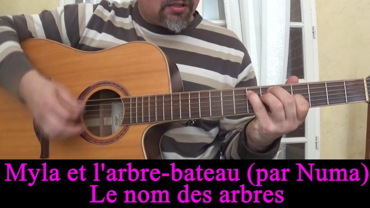 Myla et l\'arbre bateau Le nom des arbres (conte musical) guitare ...