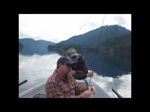 Fishing For The Beardslee Trout On Lake Crescent 2013