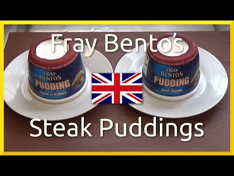 Review: British Fray Bentos Steak Puddings with Home Made Roast Veg