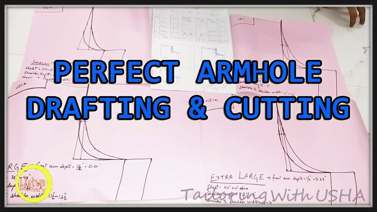 Perfect Armhole Measurement Chart With Images – Usha Seminary