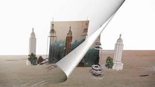 Art 4   Media Art  - Flying Flower in the City
