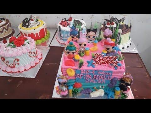 Kue Ulang Tahun Lol Mudah Sederhana Dan Simpel Kue Ultah