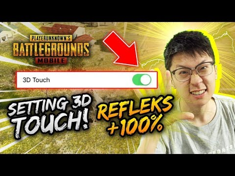 Pake SETTING 3d Touch REFLEKS MENINGKAT 50%!  - PUBG Mobile Indonesia