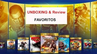 Unboxing ediciones FAVORITOS de Playstation 3
