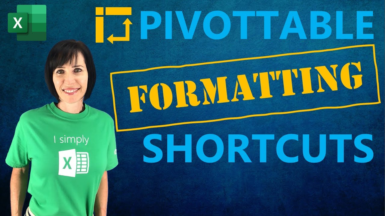 PivotTables – Set Default Layouts & Formatting And SAVE TIME!