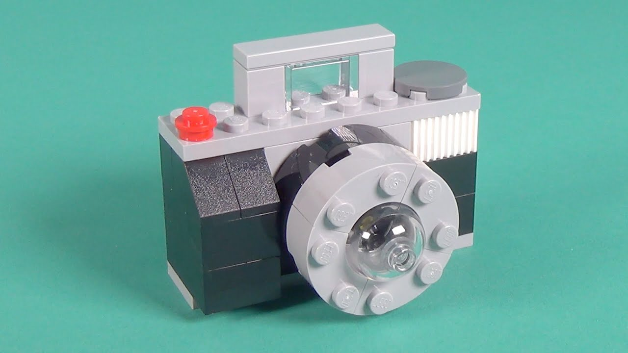 Classic Lego Instructions Building Cameras Manual Guide Example 2018