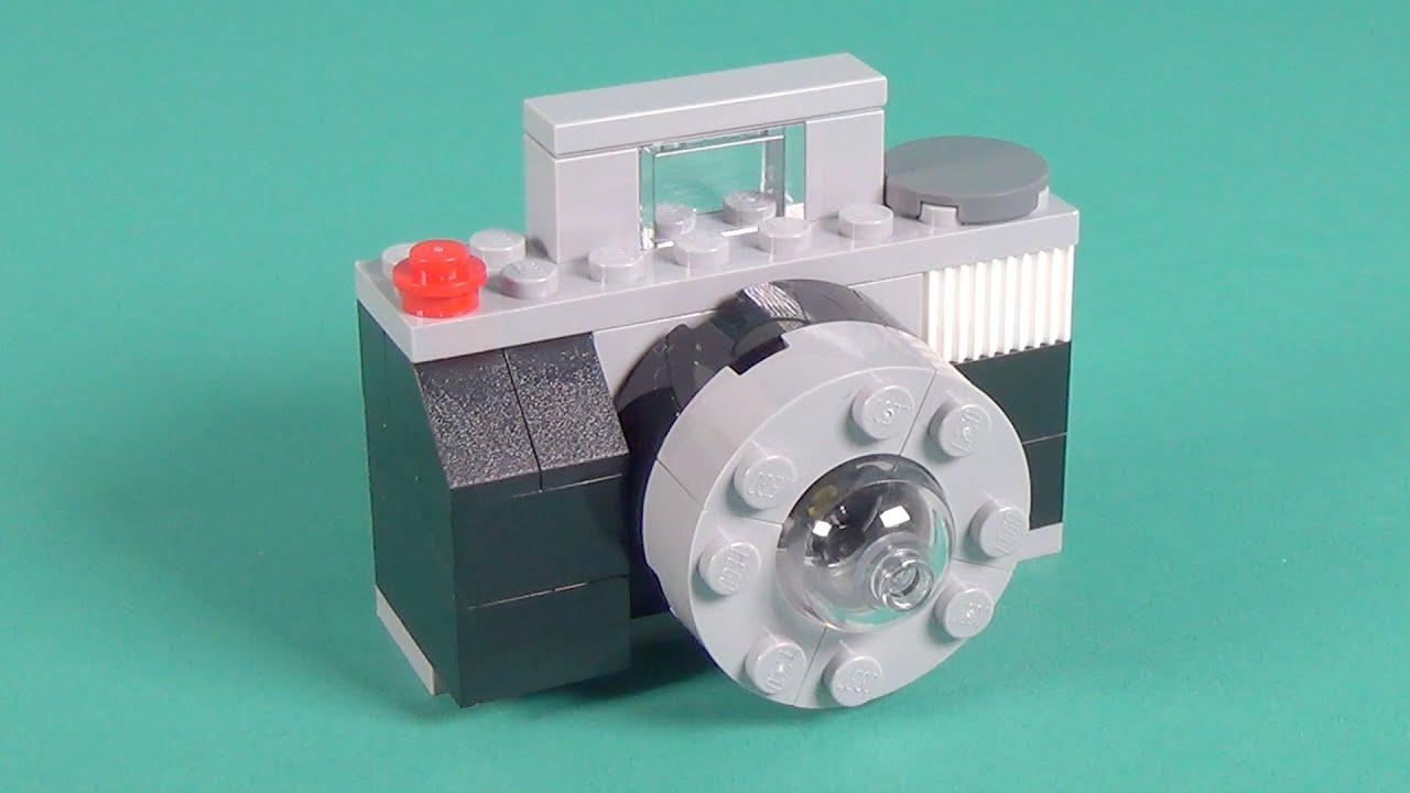 Lego Camera Building Instructions - Lego Classic 10698