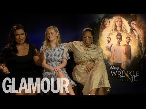 Exclusive Interview With Oprah Winfrey, Reese Witherspoon & Mindy Kaling | GLAMOUR UK