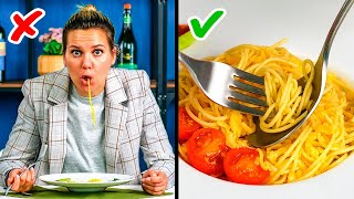 30 WAYS TO EĄT YOUR FAVORITE FOOD || Etiquette Manners by 5-Minute Recipes