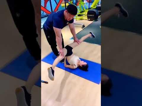 抖音搞笑| 真不能让老婆一个人去健身房,防火防盗防私教!