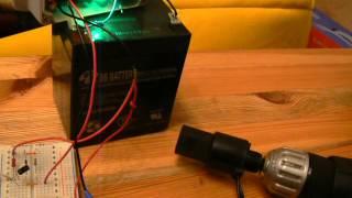 Датчик скорости 35172.01, схема управления на 555 (часть 2)