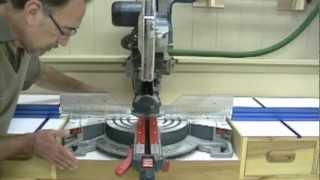 Miter Saw Workstation   Details & Finishing Up