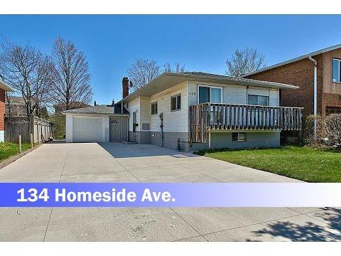 Bungalow for sale, 134 Homeside Avenue, Stoney Creek, Ontario. One floor house