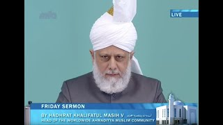 Urdu Khutba Juma 31st May 2013: Blessed and Successful Tour of North America