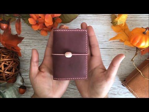 MICRO SIZE Traveler's Notebook Pedori Velvet Deluxe Plumeria