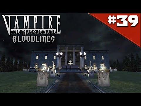 Прохождение Vampire The Masquerade Bloodlines #39 - Особняк Джованни