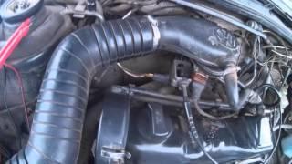 видео Замена датчика температуры воздуха WV Passat