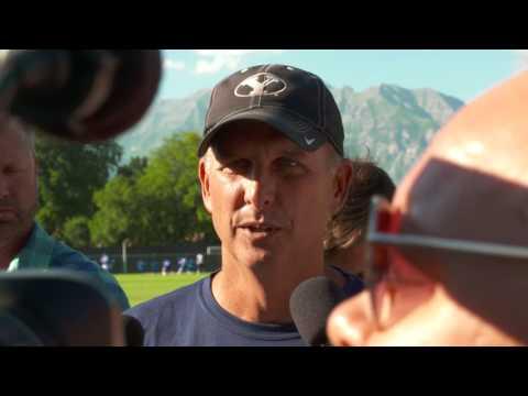 Football - BYU Football Training Camp - July 27 Ty Detmer