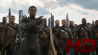 Момент. Битва в Ваканде. Кэп против Таноса! Мстители 3: Война бесконечности | AVENGERS:INFINITY WAR.