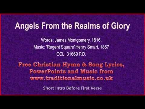 Angels From The Realms Of Glory(MP35) - Christmas Carols Lyrics & Music