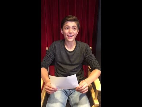Asher Dov Angel's Disney Crush is Selena Gomez