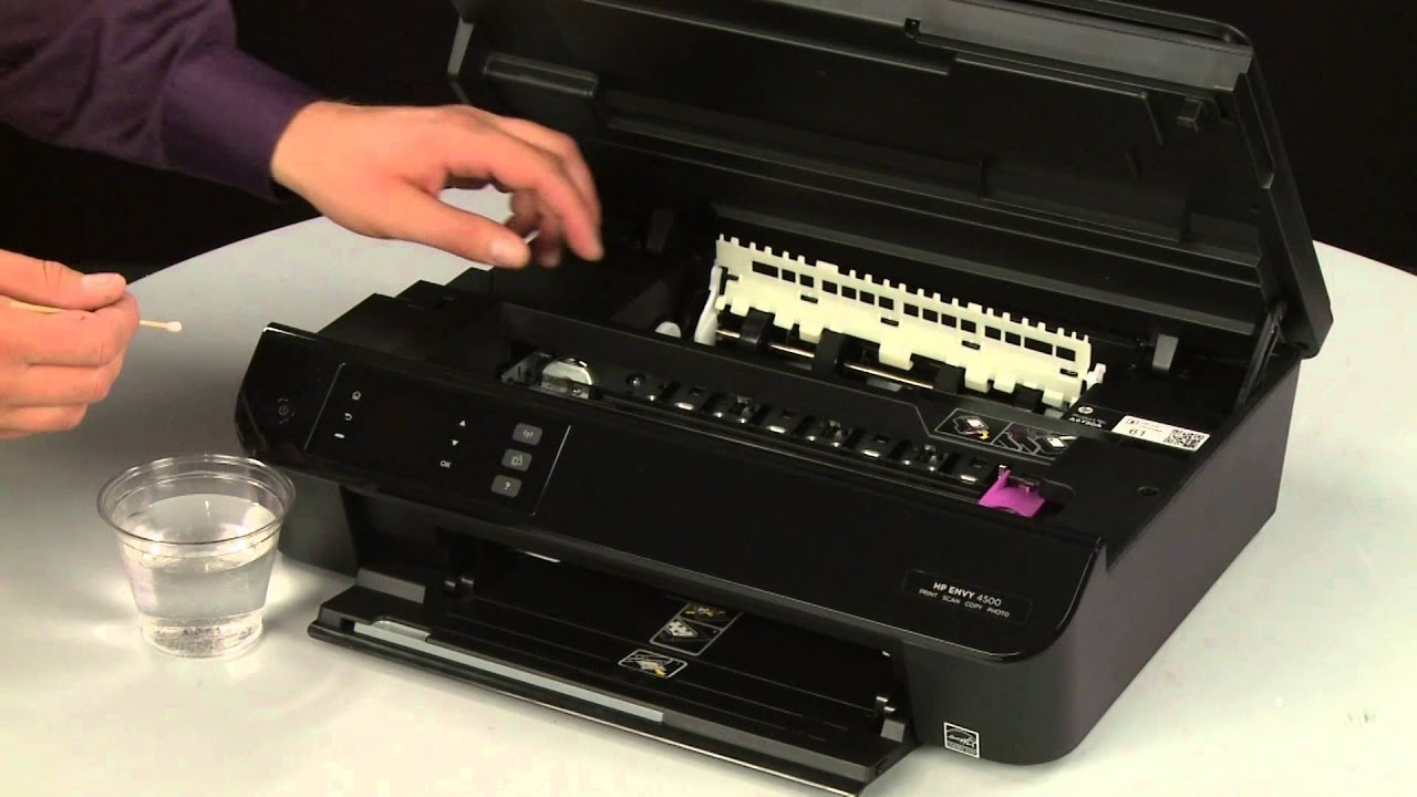 How to fix hp deskjet Printer carriage jam issue or carriage not moving
