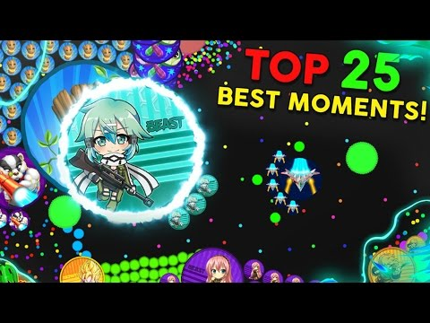 GOTA.IO // TOP 25 BEST MOMENTS! + SKIN GIVEAWAY // 4000 SPECIAL! [CLOSED GIVEAWAY]