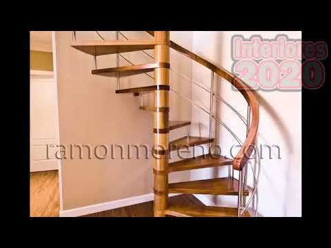 Escaleras de madera interiores youtube - Escaleras interiores de madera ...