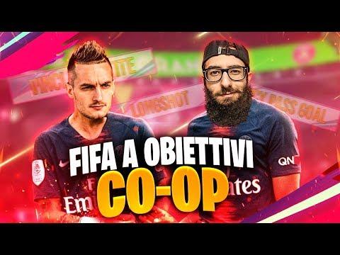 FIFA 19 A OBIETTIVI 'CO-OP'! w/Marza