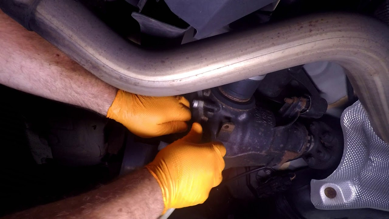 How to Change the Rear Differential Fluid on a BMW F30 with No Drain Plug