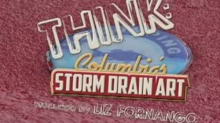 Think: Columbia's Storm Drain Art