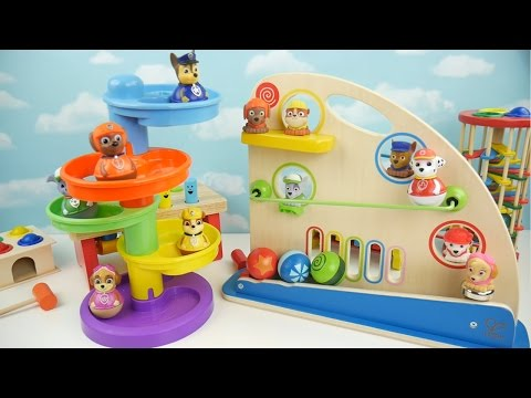 Preschool Toys Teach Colors and Counting Balls for Toddlers! Marble Maze Toy for Kids!