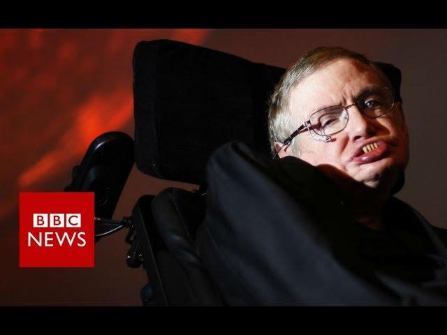 Stephen Hawking dies aged 76 - BBC News #1