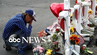 Massive turnout as community supports man whose wife was killed in El Paso shooting | ABC News
