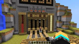 Minecraft: Gold Rush!  - ماينكرافت ماب سيول الذهب
