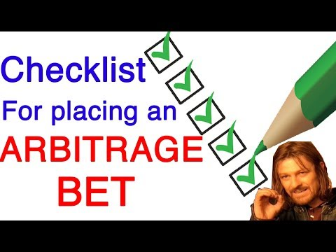 Don't Place An Arbitrage Bet Without Watching This First!