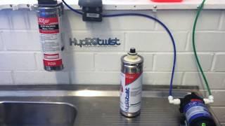 Water Filter Colour Test - ZIP 91240 vs HydROtwist Compatible HT1500